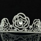 Princess Bridal Wedding Flower Tiaras Crown Headband Swarovski Crystals 8567-0C