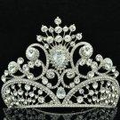 10cm Height Tiara Crown Swarovski Crystal for Bridal Wedding Birthday SHA8633