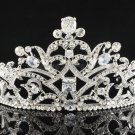 New Swarovski Crystal Tiara Crown for Bridal Wedding Birthday Party Prom JHA8320