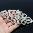 Vintage Style Bridal Flower Dress Brooch Pin Rhinestone Crystal For Women XBY125