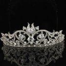 Clear Swarovski Crystals Bridal Bridesmaid Tiara Crown Wedding SH8439-0C