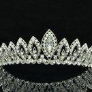 Gorgeous Teardrop Tiara Crown Wedding Bridesmaid Jewelry Swarovski Crystal 8574