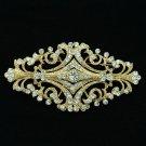 Europe Royal Style Flower Brooch Pin Women Accessories Rhinestone Crystal XBY060