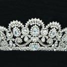 Clear Swarovski Crystals Teardrop Flower Tiara Crown Headbands Wedding SHA8629