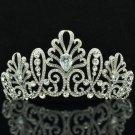 Clear Swarovski Crystal Wedding Bridal Blink Floral Tiaras Crown Jewelry SHA8636