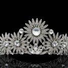 High Quality Swarovski Crystals Sunflower Tiara Crown for Bridal Wedding SHA8501