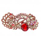 5 Color Flower Crystal Brooch Broach Pin Rhinestone Crystal women Jewelry 4909