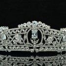 Design Flower Tiaras Crown Bridal Accessories Rhinestone Crystals 262RJK