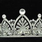 Crystal Princess Bridal Wedding Heart Flower Tiara Crown Headband SHA8644