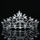 Smart Flower Clea Tiara Bridal Wedding Prom Pageant Swarovski Crystals SH8569-OC
