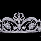 Flower Cluster Wedding Bridal Tiara Crown Headbands Swarovski Crystal SHA8664