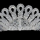 Bridesmaid Bridal Peafowl Peacock Tiara Crown Headband Swarovski Crystals SH8557