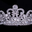 Wedding Clear Swarovski Crystal Flower Tiaras Crown For Girl Jewelry SHA8576B