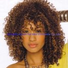 12 inch Indian spring curl full lace wig