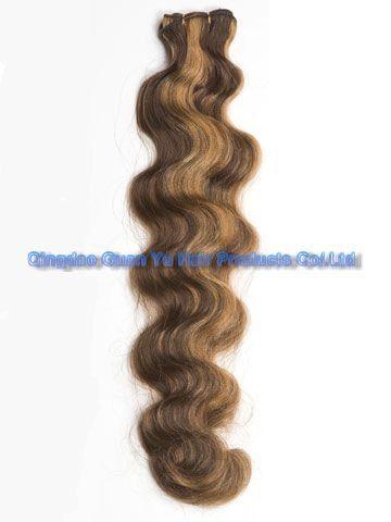 """22"""" 100% Indian remy human hair weft"""