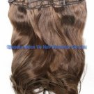 "22"" 100% Indian clip in human hair extention"