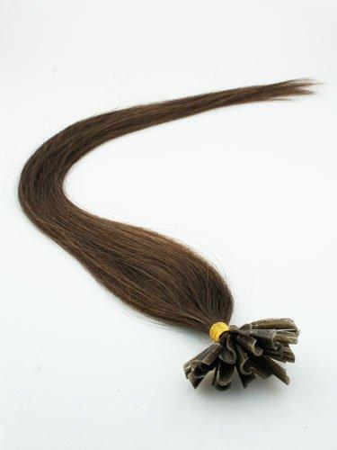 """Brown 20"""" pre-bonded U-Tip& I-tip hair extention"""