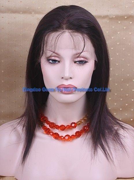 "14"" Brizilian hair full lace wig"