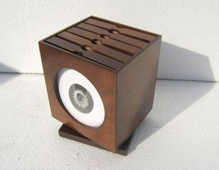 nice wooden CD box home deco and gift