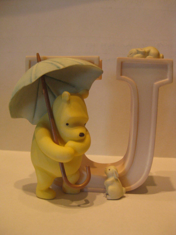 """Pooh Bear Alphabet """"U"""" by Pepperpot"""