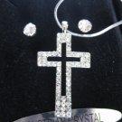 Austrian Crystal cross set II