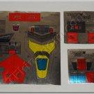 Transformers G1 Abominus Set Sticker Decal Sheet