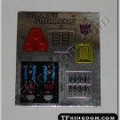 Transformers G1 Scourge Sticker Decal Sheet