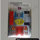Transformers G1 Bombshell Sticker Decal Sheet
