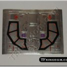 Transformers G1 Headstrong Sticker Decal Sheet