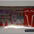 Transformers G1 Thrust Sticker Decal Sheet