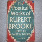 THE POETICAL WORKS OF RUPERT BROOKE HBDJ 1955