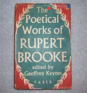 THE POETICAL WORKS OF RUPERT BROOKE HBDJ 1955