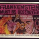 3 X HAMMER FRANKENSTEIN POSTCARDS