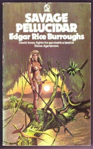 SAVAGE PELLUCIDAR EDGAR RICE BURROUGHS PB 1974