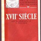 MANUEL DES ETUDES LITTERAIRES FRANCAISES XVIIe SIECLE