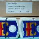 92ND INFANTRY BRIGADE DEALER PATCH lot box 200 1960's