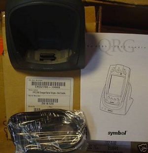 SYMBOL CHARGER SERIAL SINGLE SLOT CRADLE CRD 2700 NIB