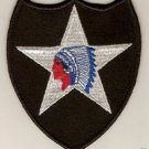2ND INFANTRY DIVISION PATCH COLOR INSIGNIA