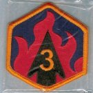 3RD CHEMICAL BRIGADE COLOR PATCH INSIGNIA