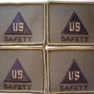 US ARMY CIVILIAN SAFETY PATCH INSIGNIA NEW