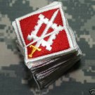 18th Engineer Brigade Color Patch Lot Bundle of 20 NOS