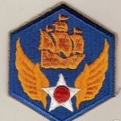 6TH ARMY AIR FORCE COLOR PATCH INSIGNIA WWII