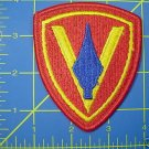 5TH MARINE DIVISION COLOR PATCH INSIGNIA