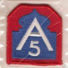 5TH ARMY COLOR PATCH INSIGNIA