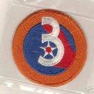 3RD ARMY AIR FORCE COLOR PATCH INSIGNIA