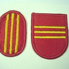 319TH FIELD ARTILLERY 3RD BATTALION FLASH AND OVAL