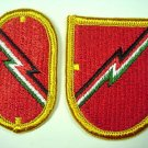 1ST FIELD ARTILLERY DETACHMENT FLASH AND OVAL