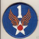 1ST ARMY AIR FORCE COLOR PATCH INSIGNIA WWII
