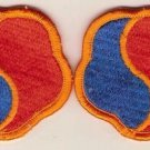 19TH SUPPORT COMMAND PATCHES F/C INSIGNIA 9/89 LOT OF 2