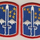 172ND INFANTRY BRIGADE PATCHES INSIGNIA 6/83 LOT OF 2